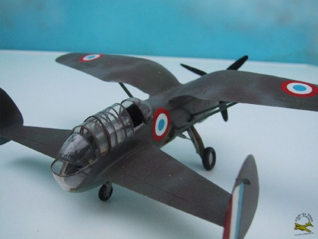 "A model of the Arsenal - Delanne 10 C-2(got permission to use this picture from the modelclub ""Club du Theil"", thanks guys)"