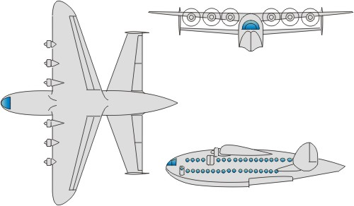 3view of Delanne DL 70