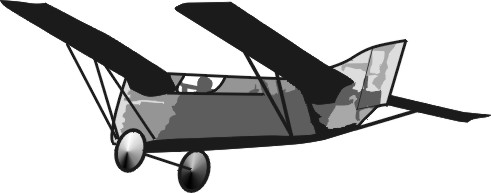 Drawing of the glider, which was especially designed for the Daily Mail competition.